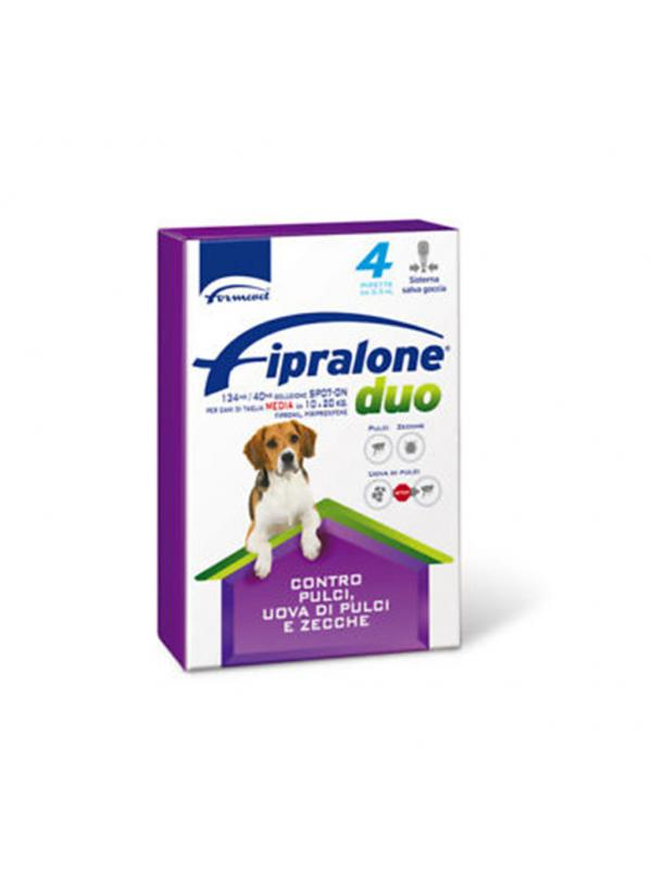 FIPRALONE DUO CANE 10-20 KG