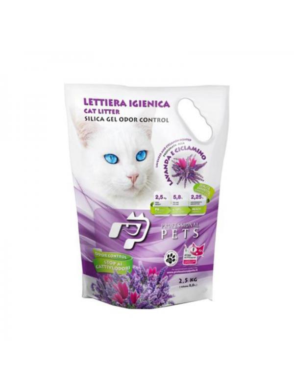 Professional pets Gatto lettiera alla lavanda 2.5Kg