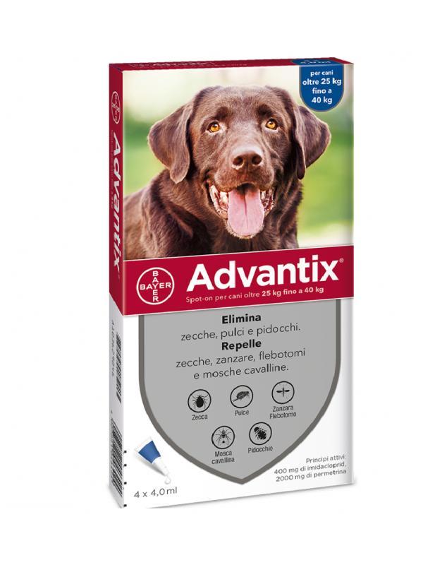ADVANTIX SPOT-ON CANI 25-40 KG