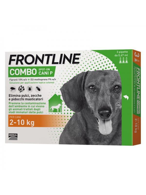FRONTLINE COMBO CANE 2-10 KG