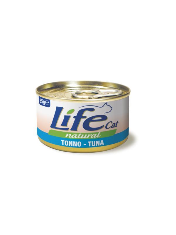 LifePetCare cat scatoletta con tonno 85g