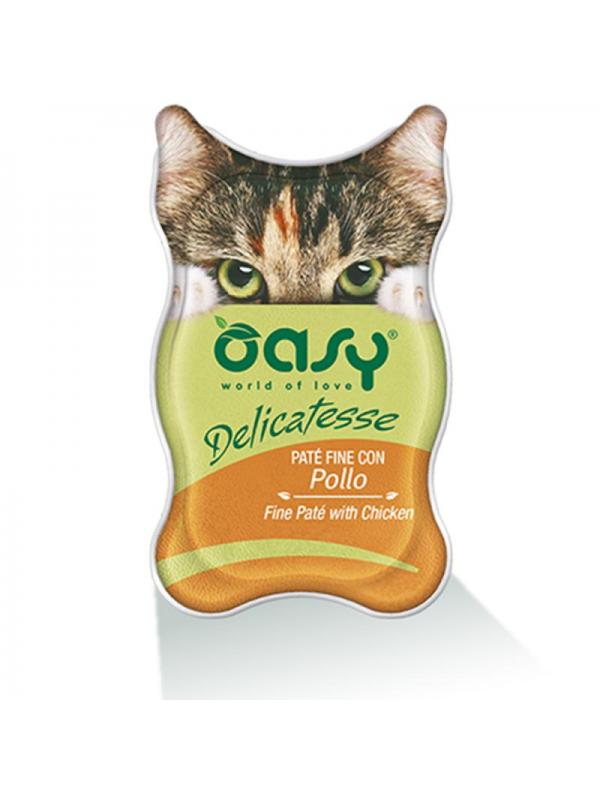 Oasy cat busta delicatesse con pollo 70g