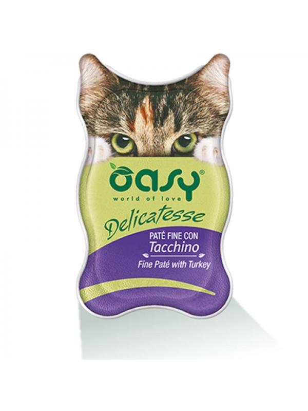 Oasy cat busta delicatesse con tacchino 70g