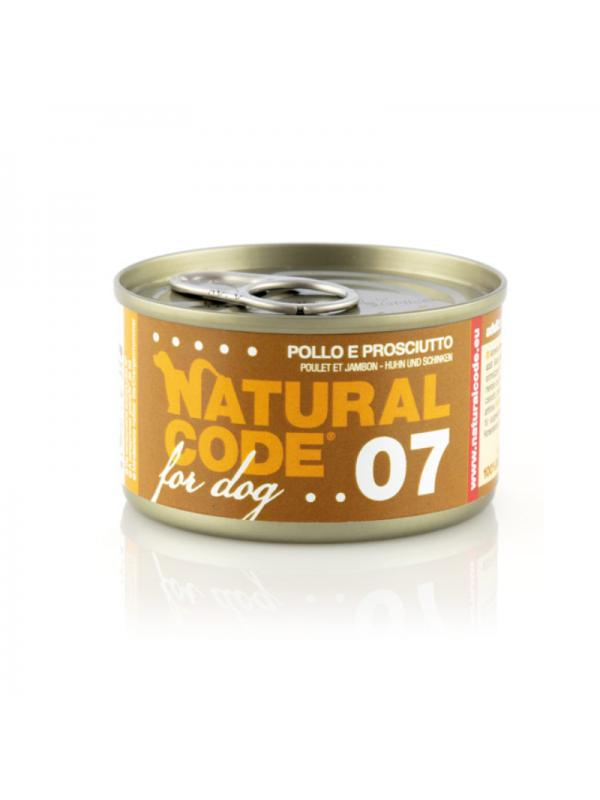 Natural Code Cane Scatoletta 90g