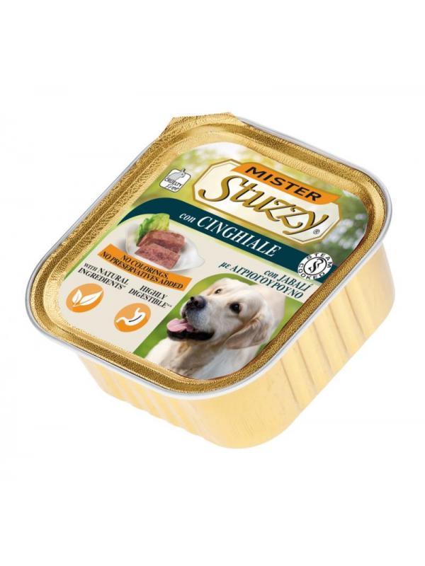 Stuzzy dog vaschetta con cinghiale 300g