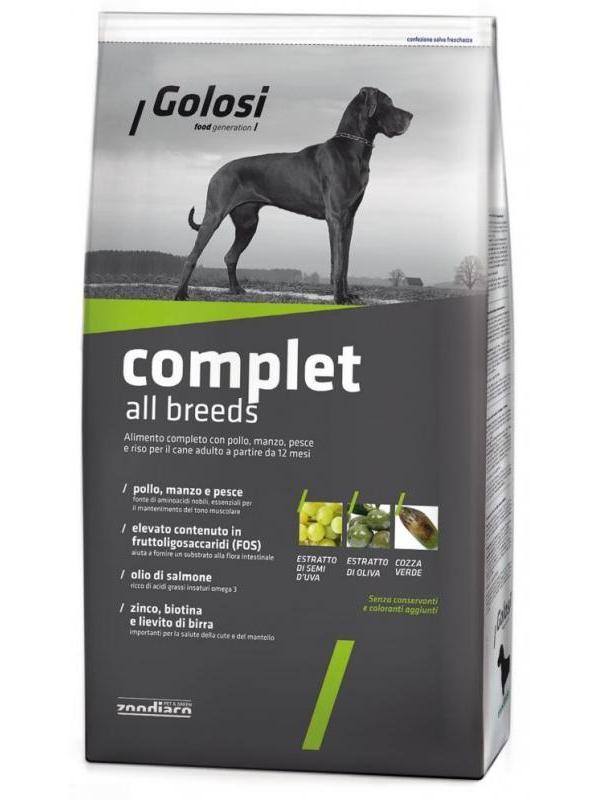 Golosi dog complet all breeds 3kg