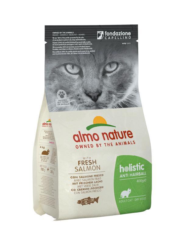 AlmoNature cat busta con salmone 400g