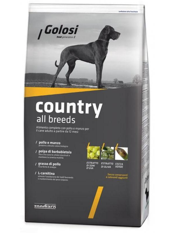 Golosi big country all breeds 3kg