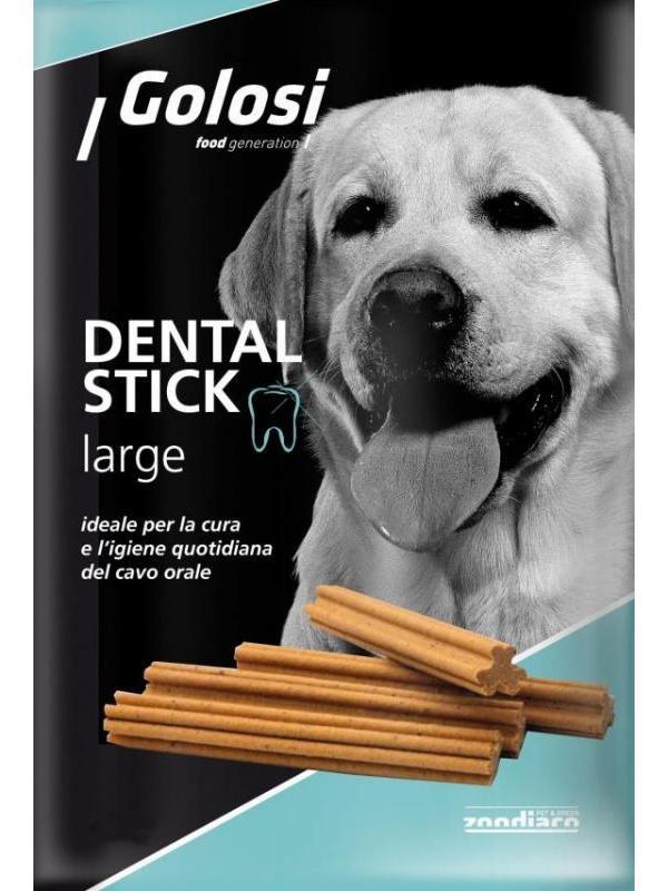 Golosi dog dental stick large 180g (7 pezzi)
