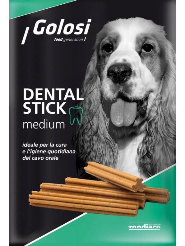 Golosi dog dental stick medium 140g (7 pezzi)