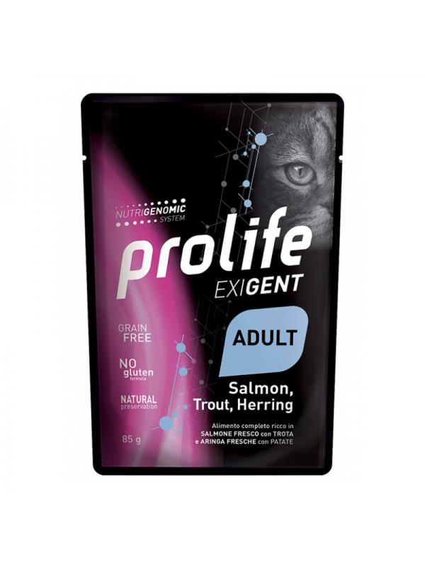 Prolife Cat Exigent Adult Salmon, Trout, Herring 85g