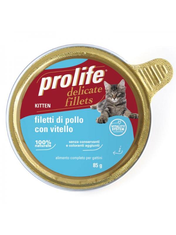 Prolife Kitten - Filetti di Pollo con Vitello 85g