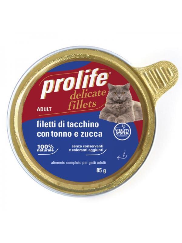 Prolife Adult - Filetti di Tacchino con Tonno e Zucca 85g