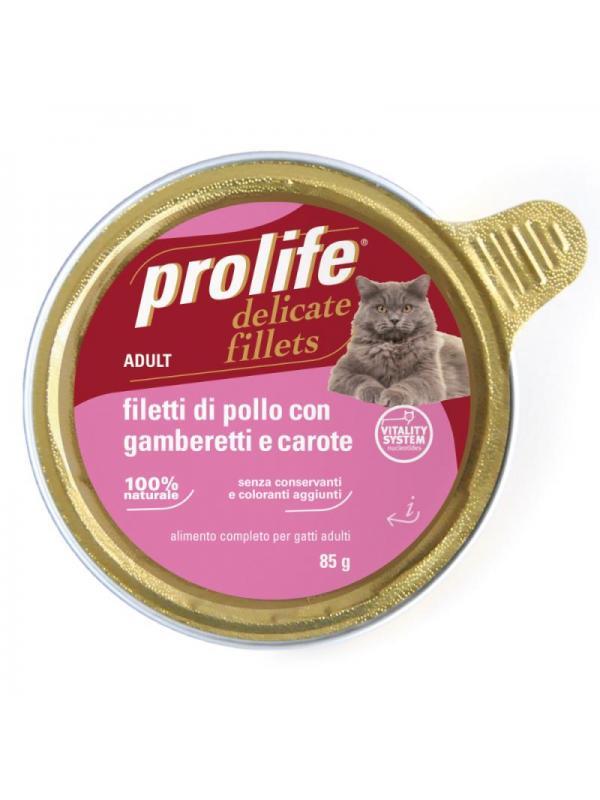 Prolife Adult - Filetti di Pollo con Gamberetti e Carote 85g