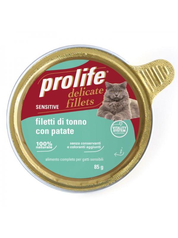 Prolife Adult Sensitive - Filetti di Tonno con Patate 85g
