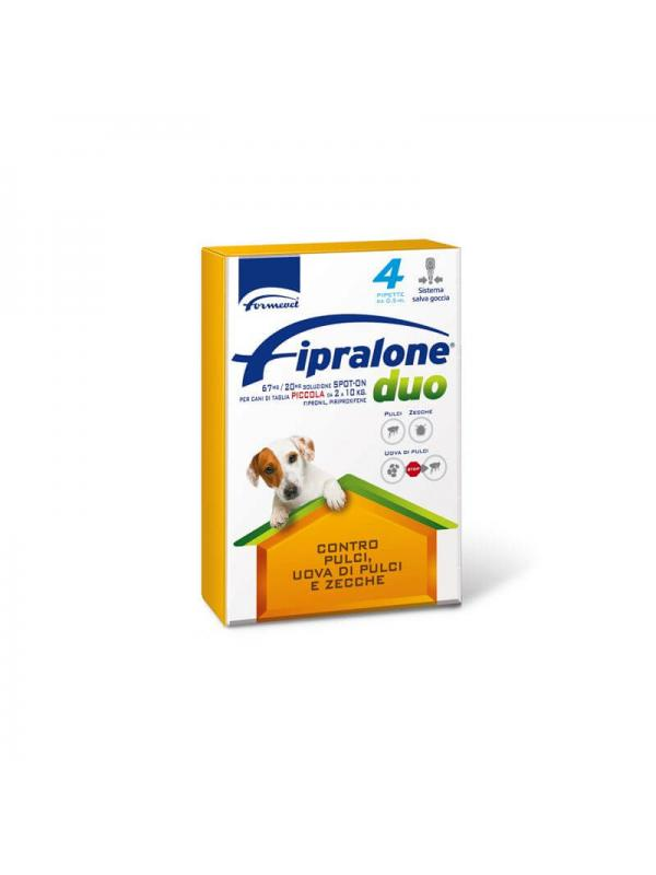 FIPRALONE DUO CANE 2-10 KG