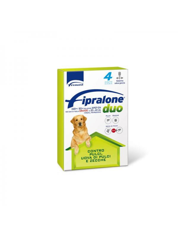 FIPRALONE DUO CANE 20-40 KG