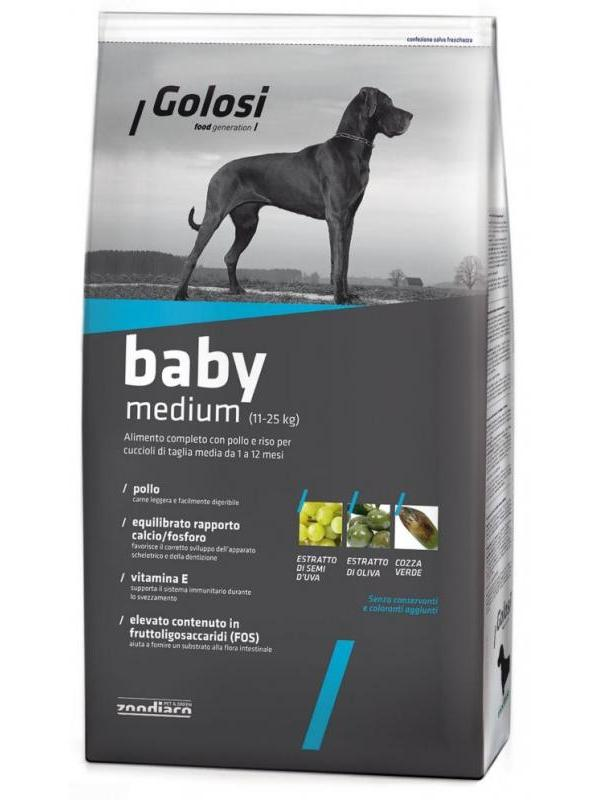 Golosi dog baby medium 12kg