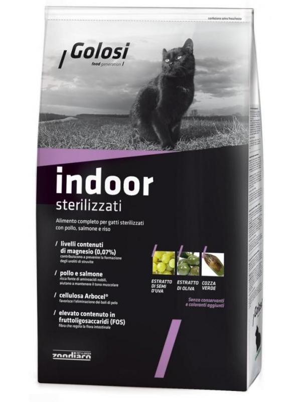 Golosi cat indoor sterilizzati 1,5kg