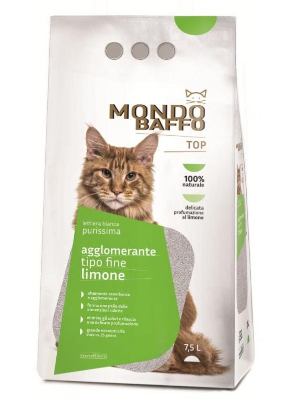 MONDO BAFFO LETTIERA AGGLOMERANTE PURISSIMA LIMONE 7,5 LT