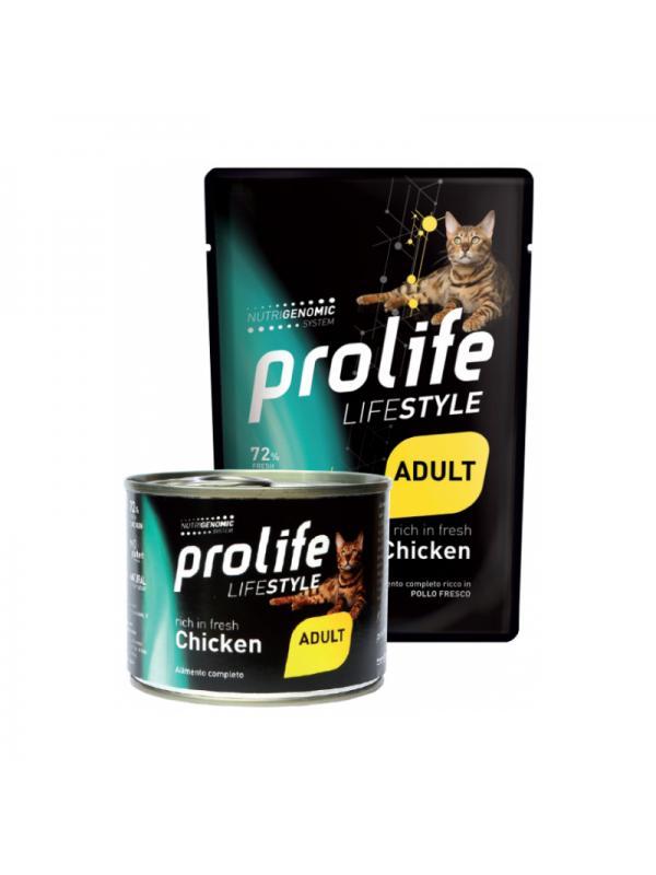 Prolife Cat Life Style Kitten Chicken 85g