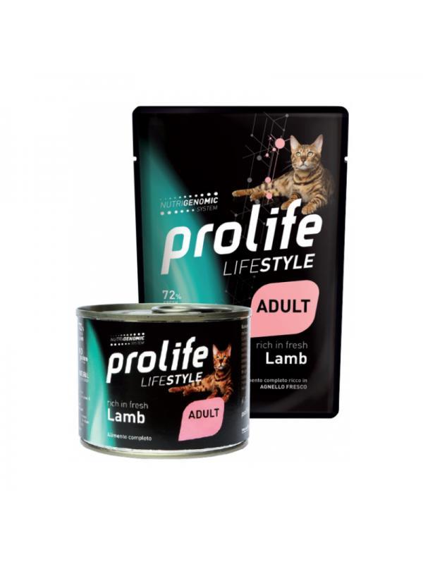 Prolife Cat Life Style Adult Lamb 200g
