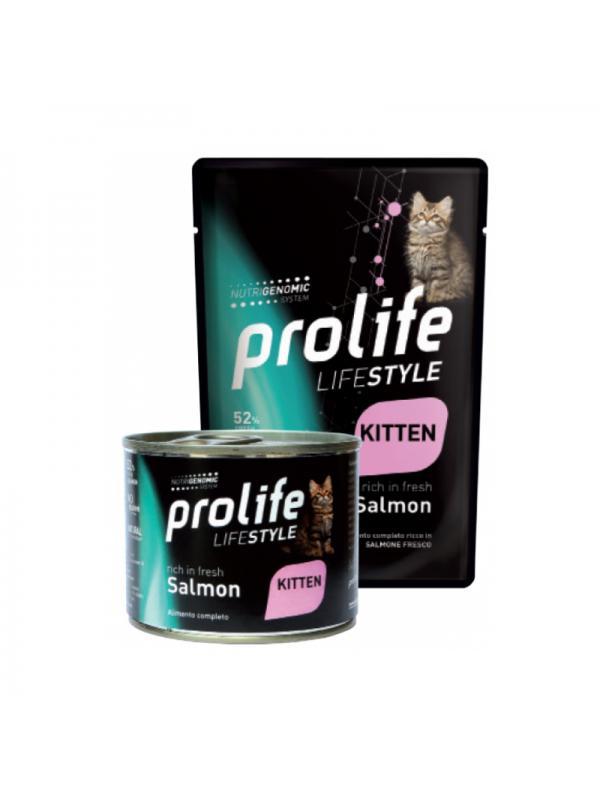 Prolife Cat Life Style Kitten Salmon 200g