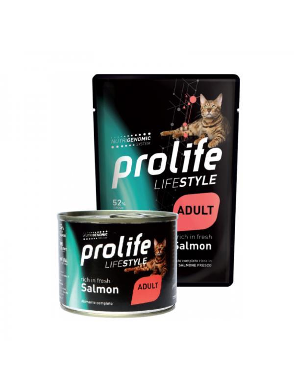 Prolife Cat Life Style Adult Salmon 200g