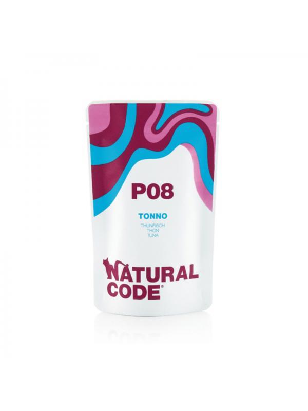 Natural Code Gatto Busta 08 tonno 70g