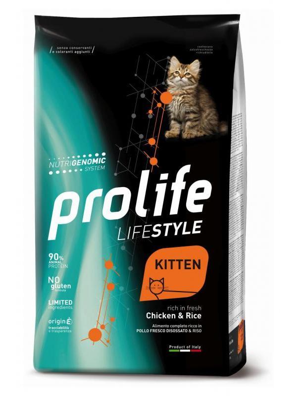 Prolife Life Style Kitten Chicken & Rice 1,5kg