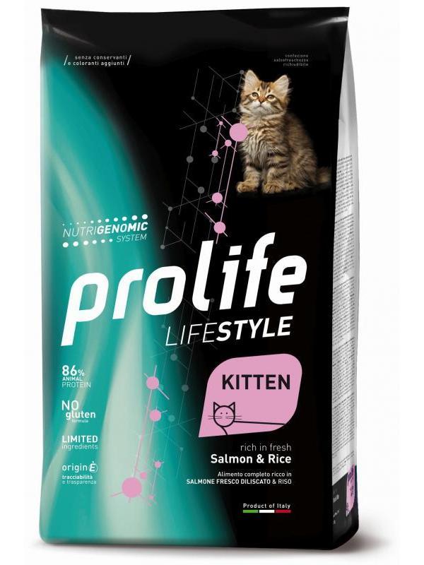 Prolife Life Style Kitten Salmon & Rice 1,5kg