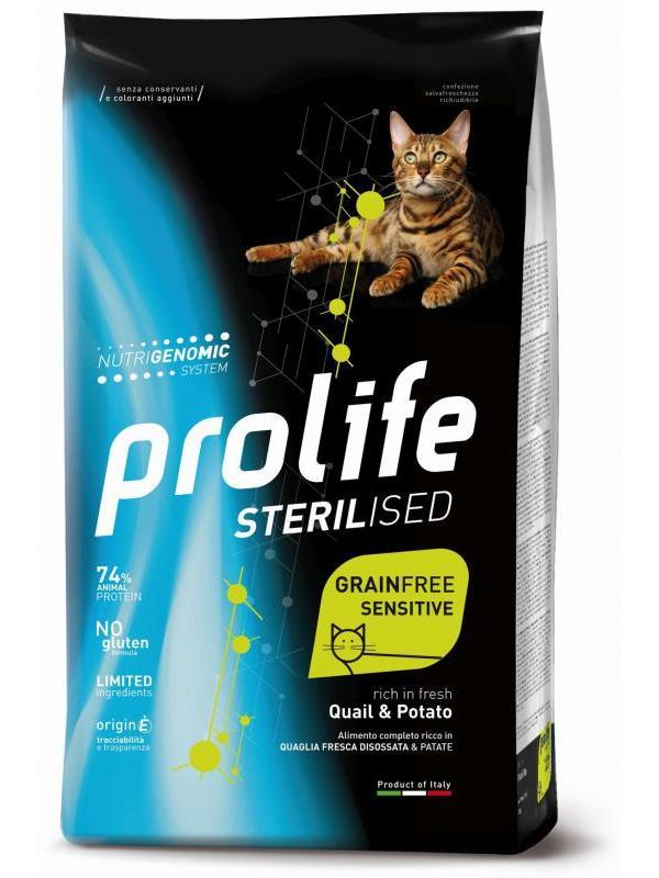 Prolife Sterilised Grain Free Adult Quail & Potato 7kg