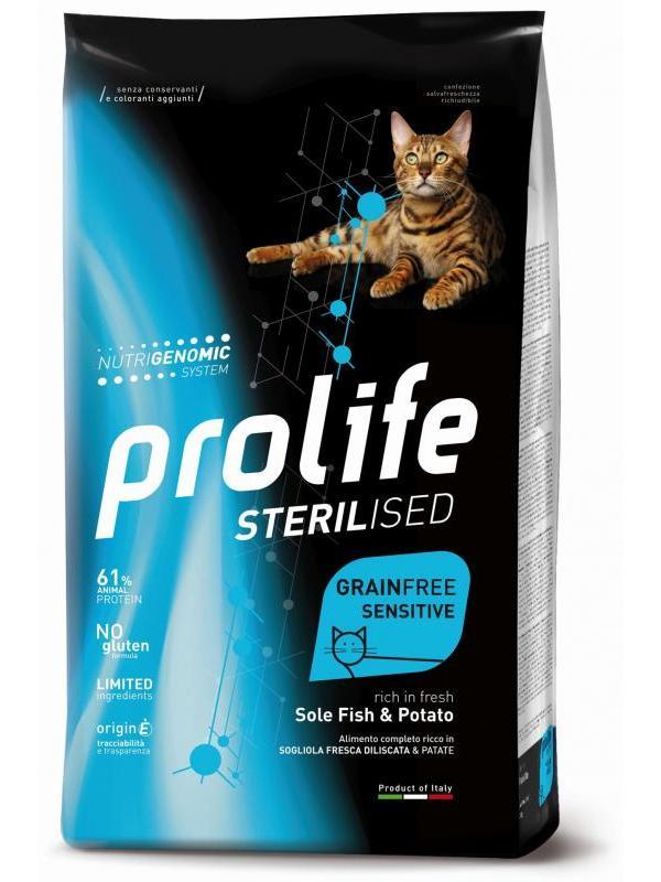 Prolife Sterilised Grain Free Adult Sole Fish & Potato 400g