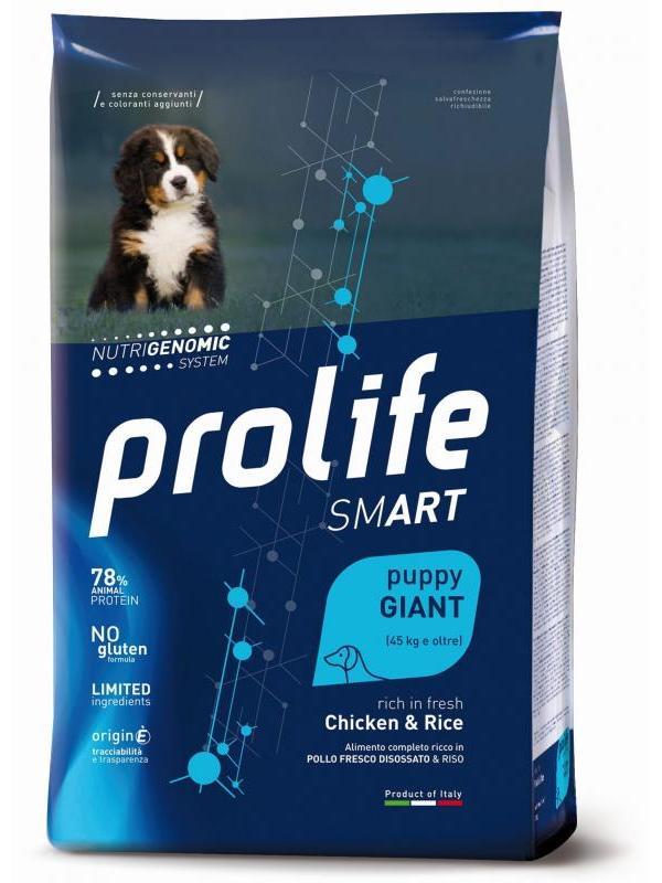 Prolife Smart Puppy Chicken & Rice - Giant 10kg