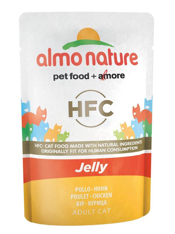 AlmoNature cat  busta jelly con pollo