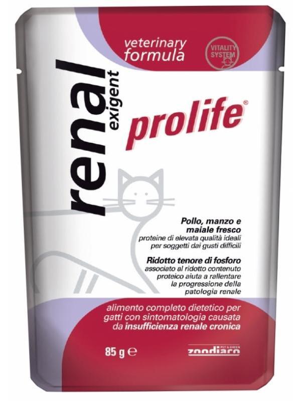 Prolife veterinary formula renal exigent 85