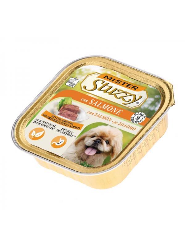 Stuzzy dog vaschetta con salmone 150g