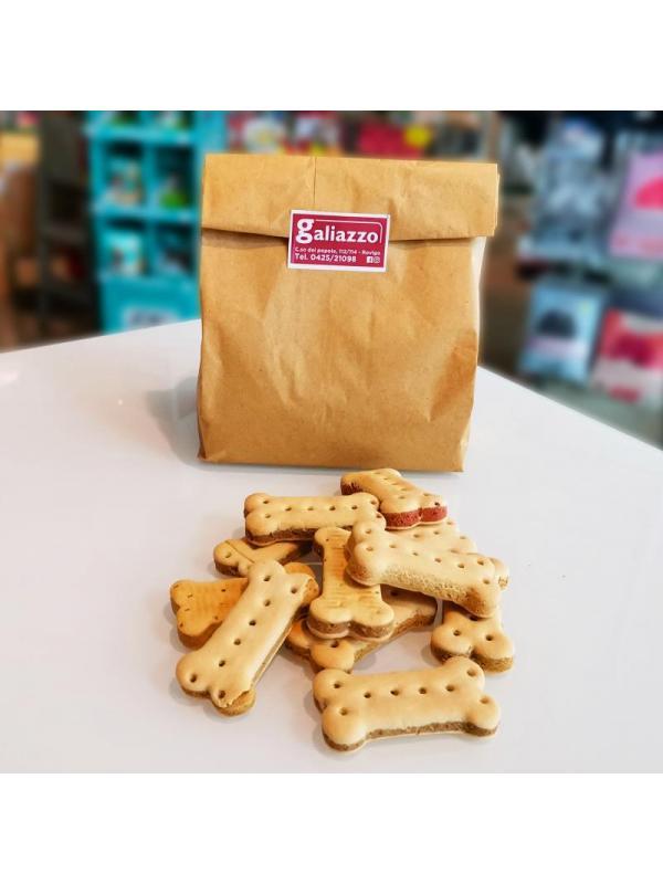 Golosi dog biscuit bone sandwich mix sfusi 1kg