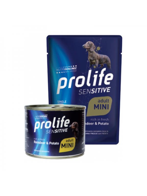 Prolife Dog Sensitive Adult Reindeer & Potato - Busta 100g