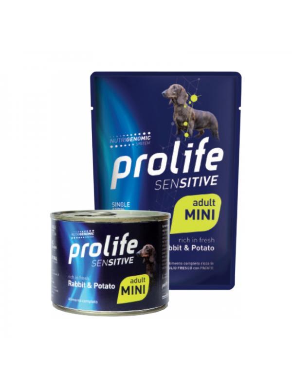 Prolife Dog Sensitive Adult Rabbit & Potato - Busta 100g