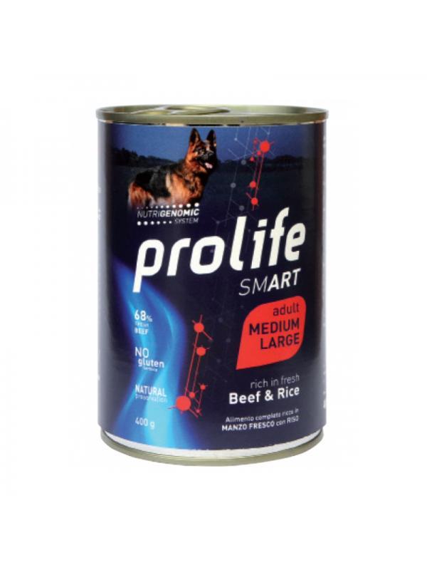 Prolife Dog Smart Adult Beef & Rice - Medium/Large 400g