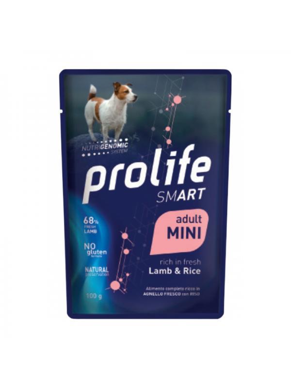 Prolife Dog Smart Adult Lamb & Rice - Busta 100g