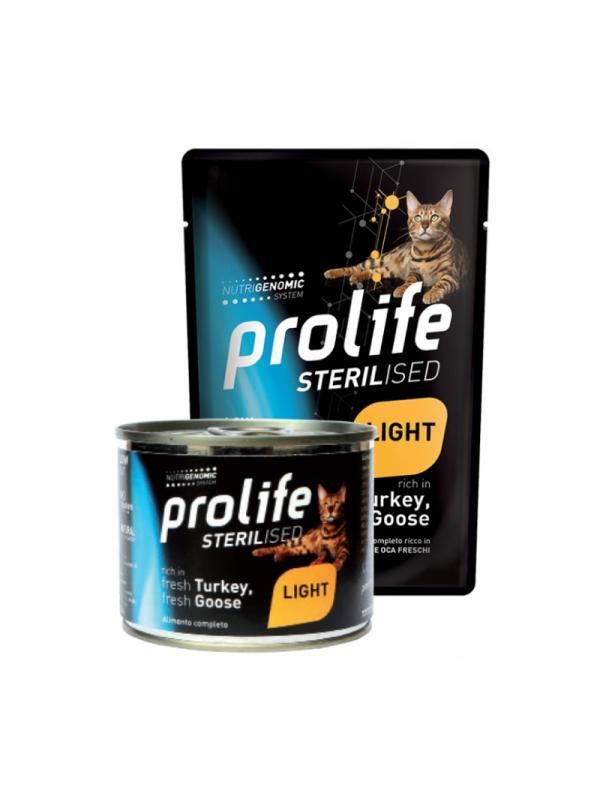 Prolife Cat Sterilised Grain Free Adult Turkey & Goose 200g