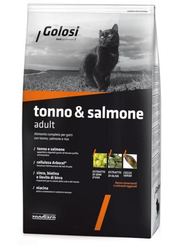 Golosi cat tonno & salmone 1,5kg