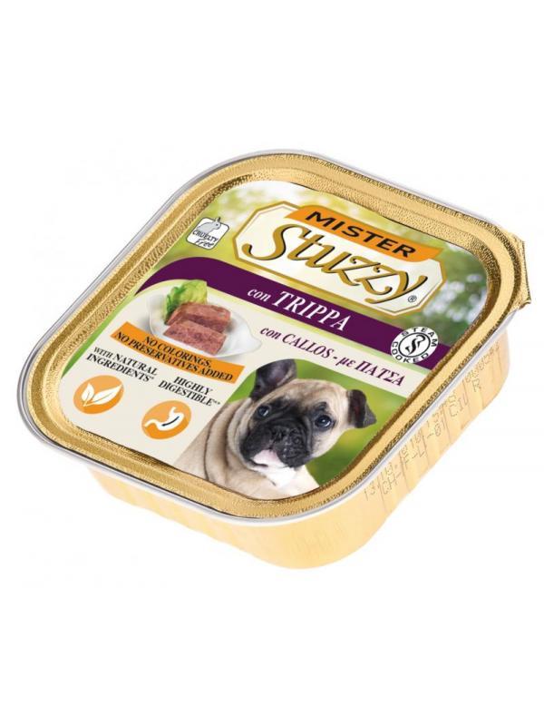 Stuzzy dog vaschetta con trippa 150g
