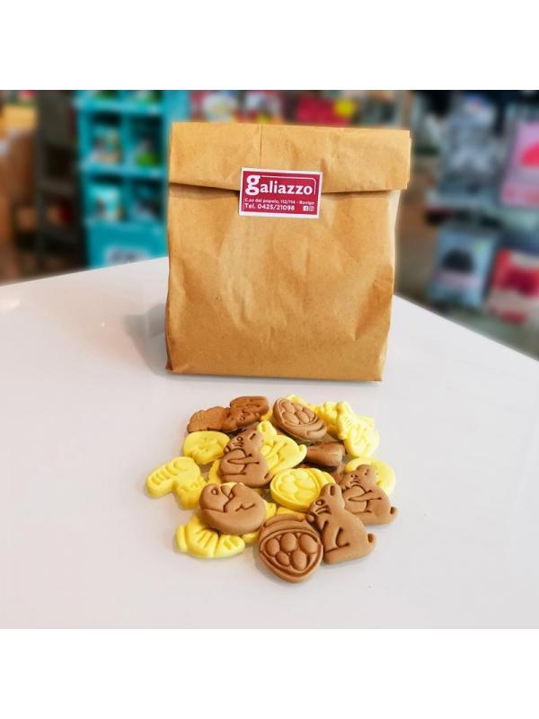 Golosi dog biscuit country vaniglia e cereali sfusi 1kg