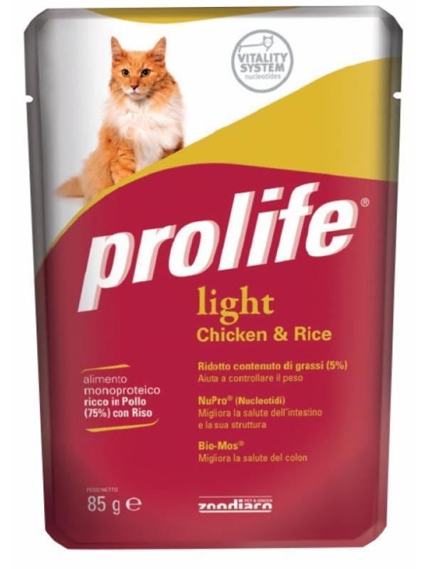 Prolife Wet Light Chicken & Rice 85g