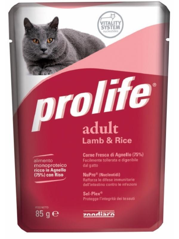 Prolife Wet Adult Lamb & Rice 85g