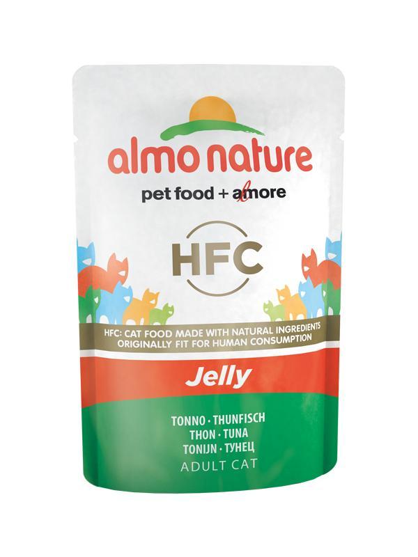 AlmoNature cat  busta jelly con tonno